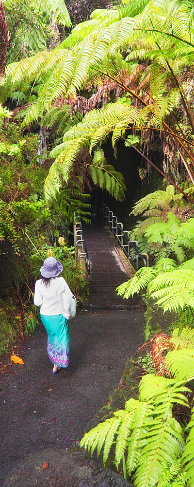 Kilauea Volcano and Thurston Lava Tube at Hawaii Volcanoes National Park and 50+ Secret Places in America That Most Tourists Don't Know About