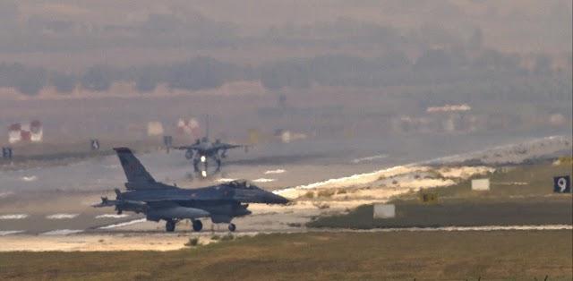 Τουρκία: Η πολεμική της αεροπορία μόλις και μετά βίας μπορεί να πετάξει τα F-16 της