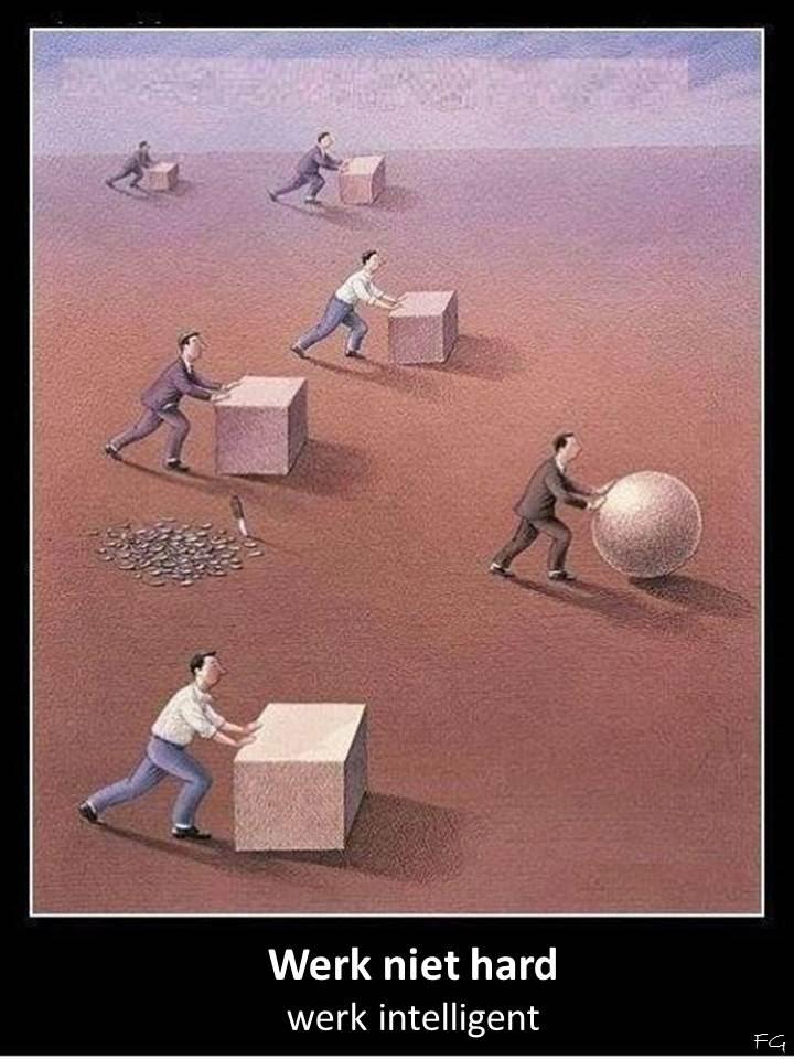 Inspirerende Quotes Met Beeld Werk Niet Hard