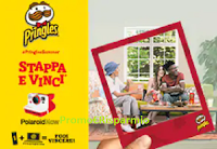 Logo Concorso Pringles '' Stappa e vinci una Polaroid Now '': 203 premi in palio