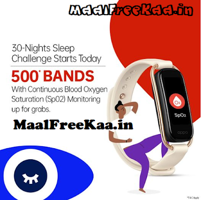 Fitness Get FREE OPPO Band