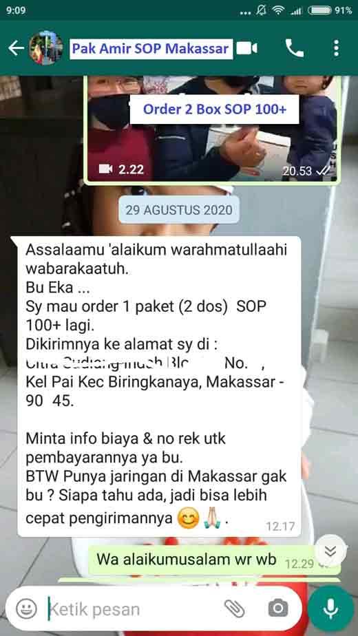 Jual SOP Subarashi Kandungan - Obat Tradisional Kencing Manis, Jual di Maluku Utara. SOP 100 Bagus.