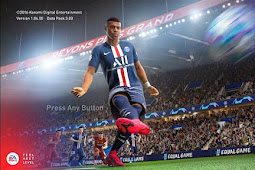 Graphic Menu PES Style FIFA 21 For - PES 2017