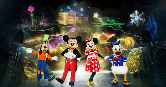 Behind the Scenes of Disney On Ice Mickey's Search Party