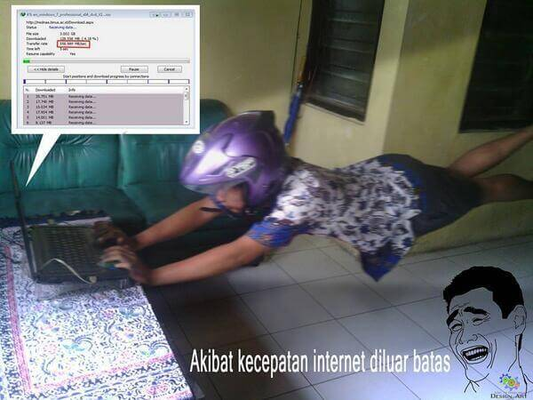 Internet Ngebut