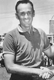 Golfer Art Wall Jr in the 1950s
