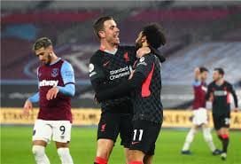ليفربول يضرب وست هام بثلاثية مقابل هدف واحد في الدوري الانجليزي