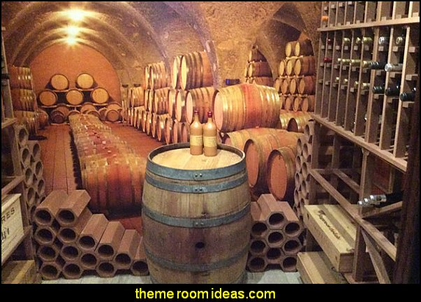 Wine Cellar wall mural mural  magic  tuscan theme decorating ideas
