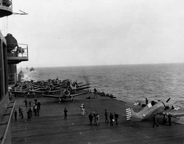 USS Enterprise on 16 April 1942 worldwartwo.filminspector.com
