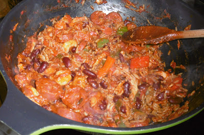 #readcookeat recipe : Gumbo-inspired one pot wonder (Jack and Jill)
