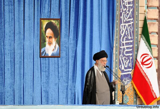 ولی امر مسلمین سپریم لیڈر آف ایران سید علی خامنہ ی حفظہ اللہ