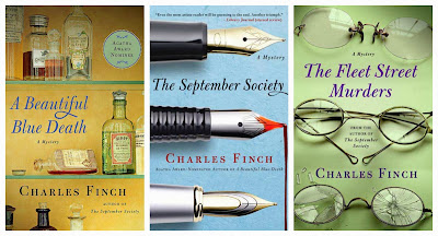 Giveaway – 3 mysteries by Charles Finch – Ends tonight!