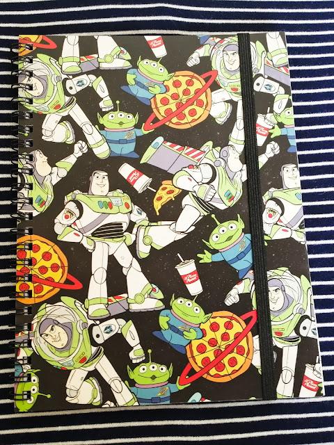 Buzz Lightyear notebook from Typo