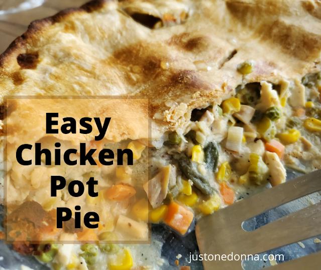 The Best, Easy Chicken Pot Pie
