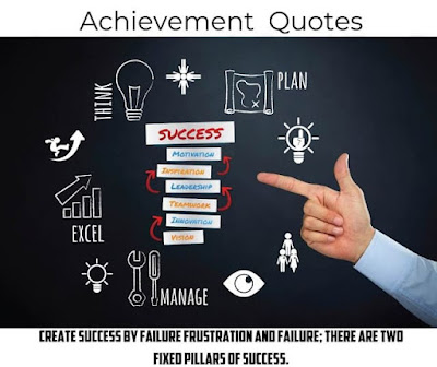 Quotes On Achievement In English