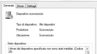 Identificare Dispositivi sconosciuti su PC Windows 10, 7 e 8