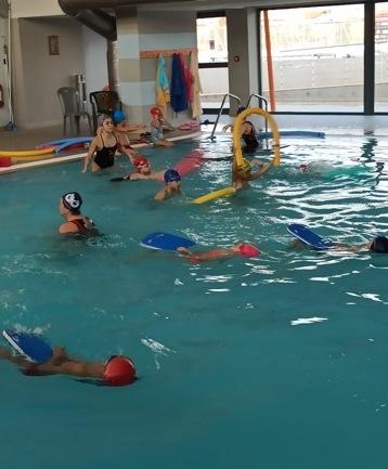 Κοπή πίτας των ακαδημιών κολύμβησης Δήμου Λαρισαίων