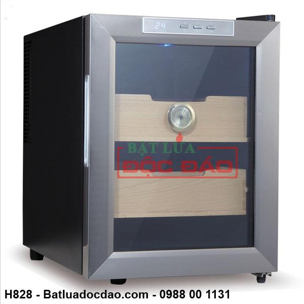 Quà tặng sếp: Tủ giữ ẩm xì gà cắm điện Lubinski H828