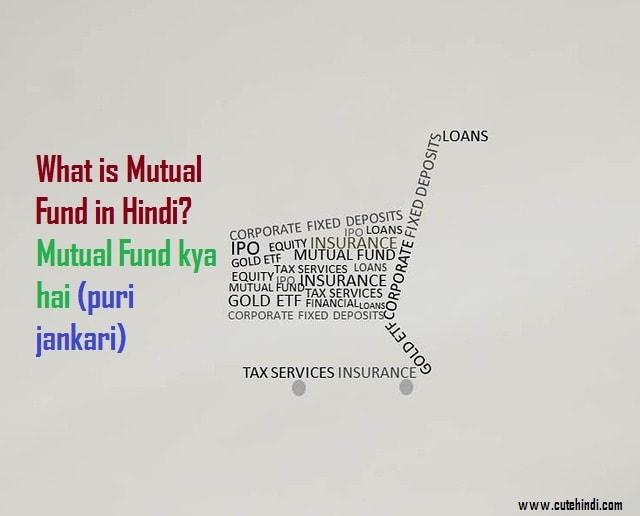 What is Mutual Fund in Hindi?Mutual Fund kya hai (puri jankari)