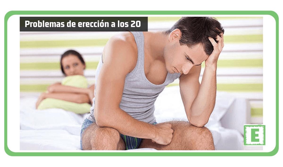 Problemas de erección a los 20 años