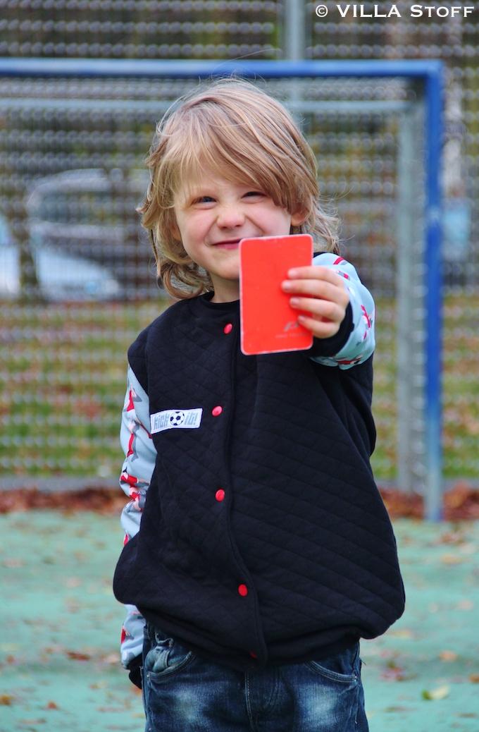 nähen für Kinder • Kick it! Fußball Stoffe von Hamburger Liebe