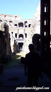 guia de roma brasileira italia coliseu s3 - Os subterrâneos do Coliseu