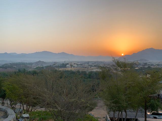 Sunrise in Hatta