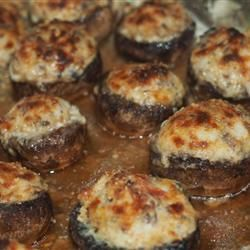 Mouth-Watering Stuffed Mushrooms #recipes #dinnerrecipes #dinnerideas #newdinnerrecipes #newdinnerideas #newdinnerrecipeideas #food #foodporn #healthy #yummy #instafood #foodie #delicious #dinner #breakfast #dessert #lunch #vegan #cake #eatclean #homemade #diet #healthyfood #cleaneating #foodstagram
