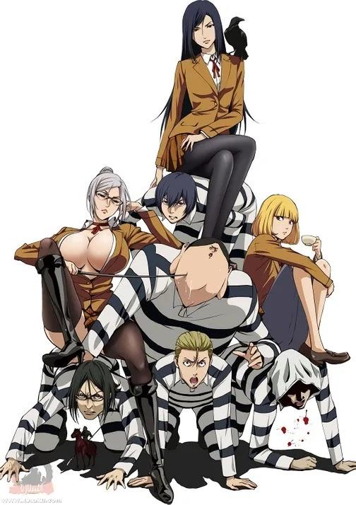 جميع حلقات الأنمي Prison School مترجم