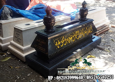 Makam Granit Bandung | Kijing Makam Granit | Makam Bokoran Tunggal Granit