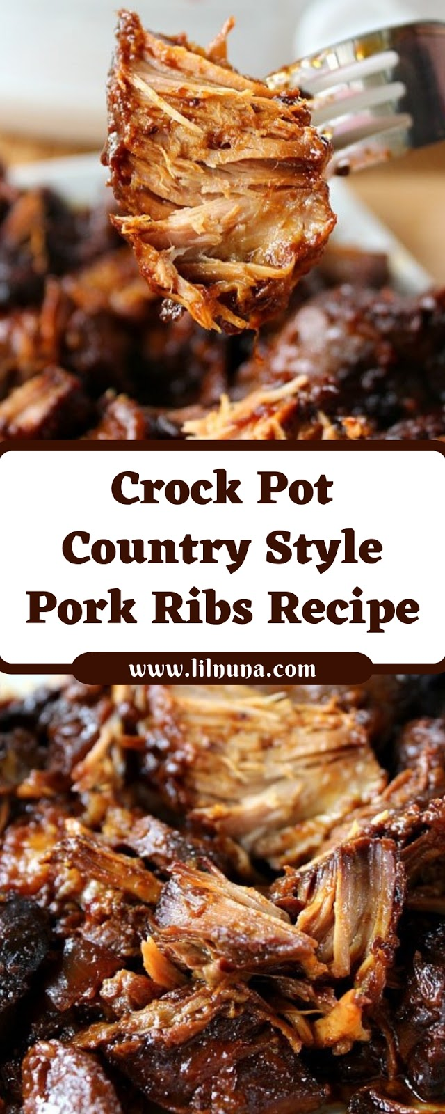 Crock Pot Country Style Pork Ribs Recipe