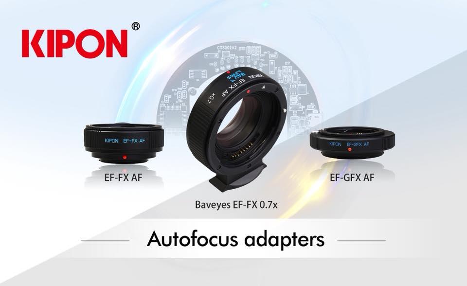 Автофокусные адаптеры Kipon