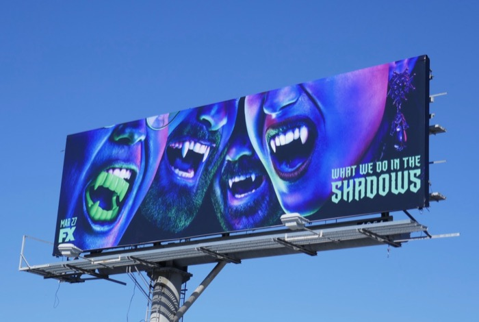 What We Do In Shadows series billboard