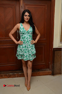Actress Sakshi Chaudhary Pictures in Short Dress at Selfie Raja Movie Song Launch  0211.JPG
