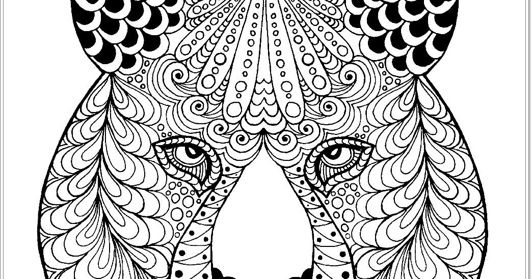 einfache tiger malvorlagen zum download  free mandala