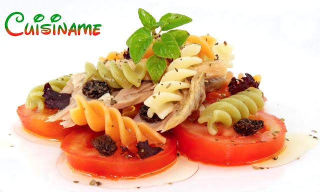 ensalada de pasta, recetas light, ensalada, recetas originales, recetas de cocina, tomate, pasta, lechuga, ventresca, humor,