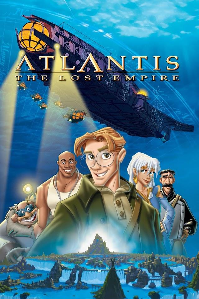 Atlantis - The Lost Empire 2001 x264 720p Esub BluRay English Hindi Telugu Tamil THE GOPI SAHI