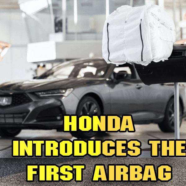 Honda introduces the first airbag of its kind to operate like a baseball glove
