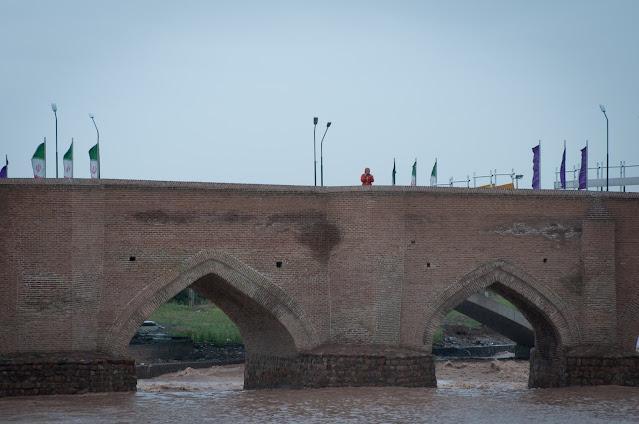 Aji Chay Bridge, Tabriz, Iran