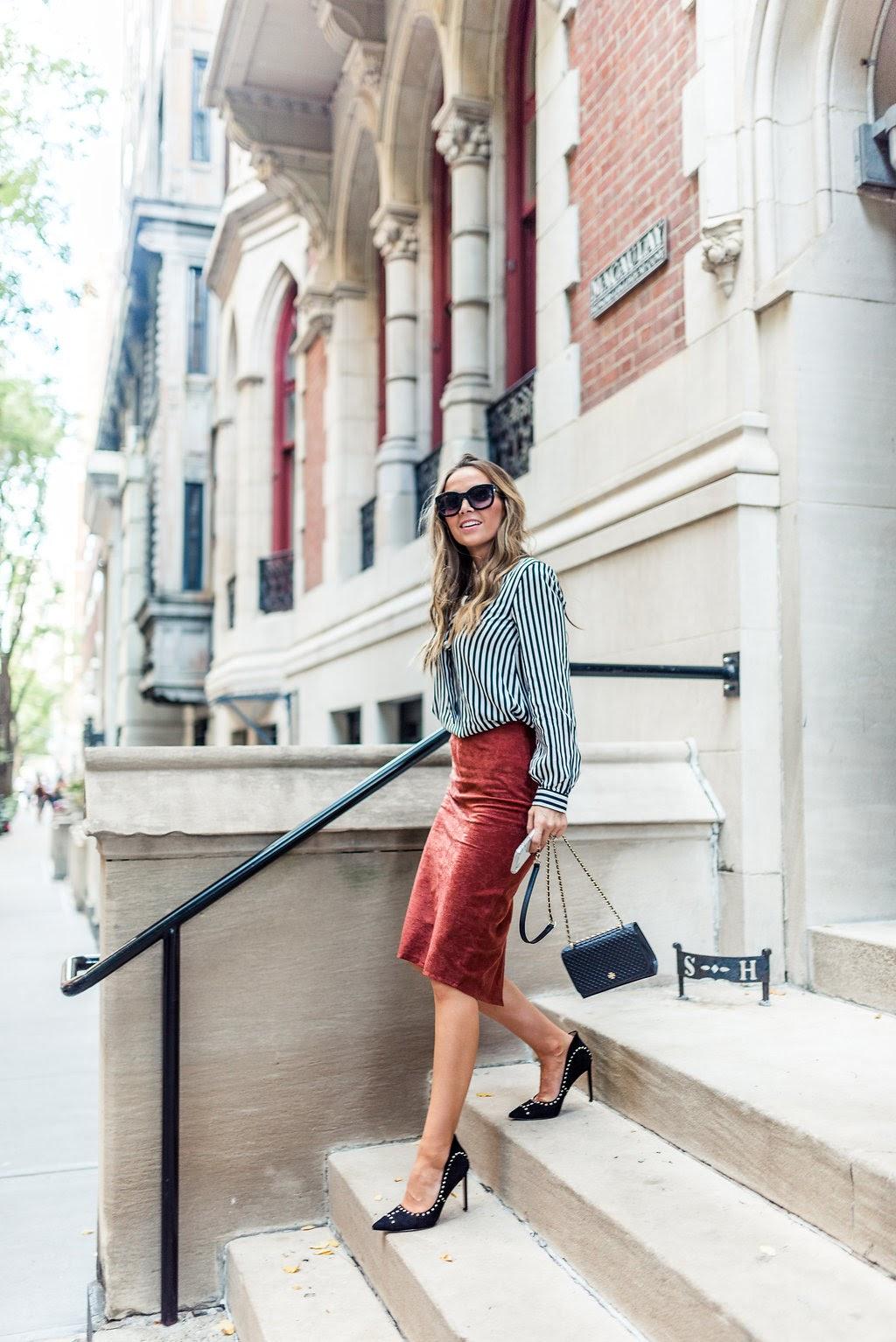 DIY Tailored Pencil Skirt