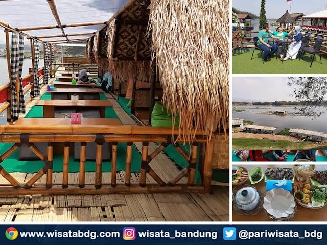 Bale Apung De Lempung Kuring, Wisata Kuliner Instagramable di Bandung Barat