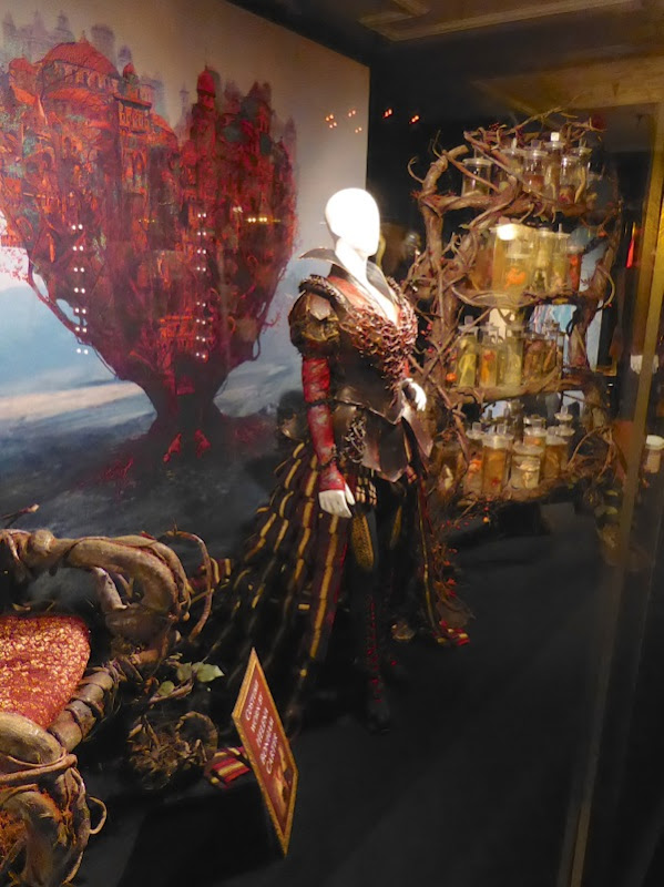 Alice Through Looking Glass Red Queen Organic Armour