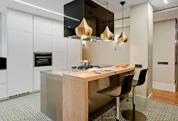 Mesas y barras: ideas para no perdérselas Cocinas con estilo