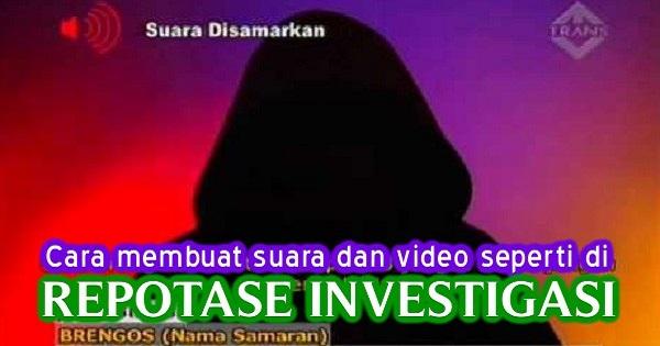 Ilustrasi Repotase Investigasi