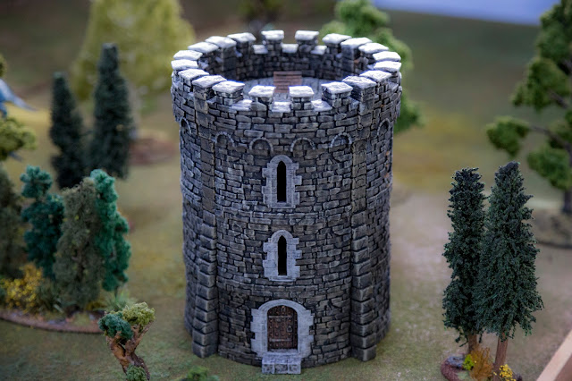 Printable Scenery - 3D Printable Wargame Miniature Warhammer Castle Tower