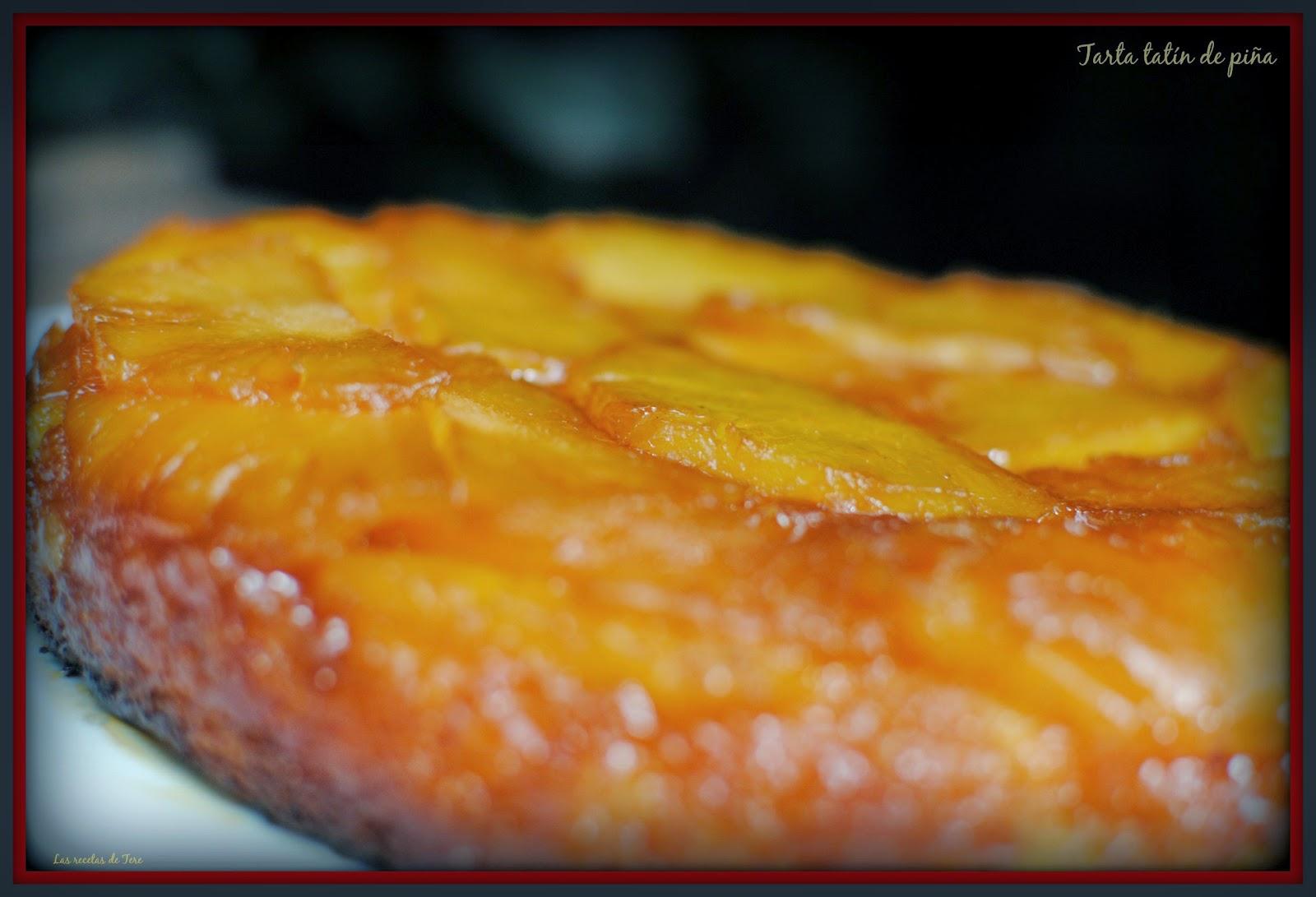 tarta tatín de piña tererecetas 05