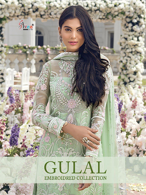 Shree Fab gulal Embroidered Pakistani Suits wholesale Price