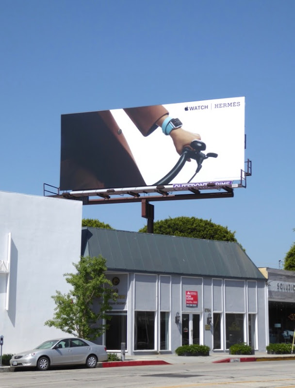 Apple Watch Hermès billboard