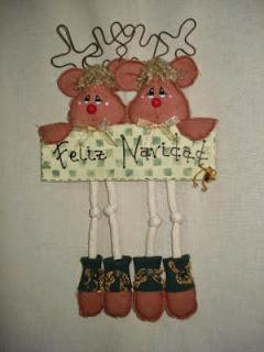 Decoracion de Navidad con Renos, parte 1