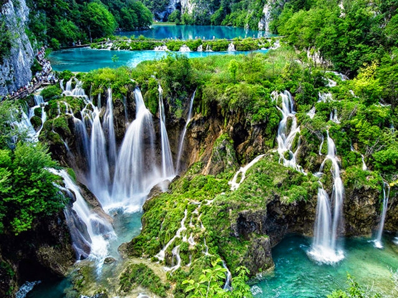 Image result for plitvice lakes national park in croatia